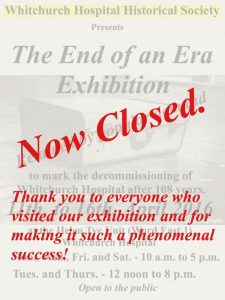 The Exhibition is Now Closed